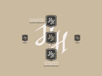HH LOGO DESIGN // beltramo bltr branding calligraphy carpenter hh identity lettering logo monogram typography