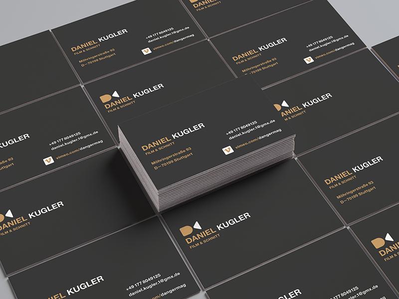 DK CARDS / FILMMAKER // typography logo filmmaker dk cards camera branding bltr beltramo