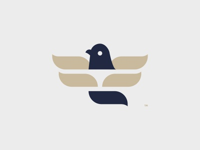 PIGEON LOGO DESIGN // symbol pigeon logo illustration icon bltr bird beltramo