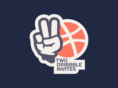 TWO DRIBBBLE INVITES //