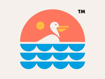 PELICAN // pelican logo illustration icon bltr beltramo animal