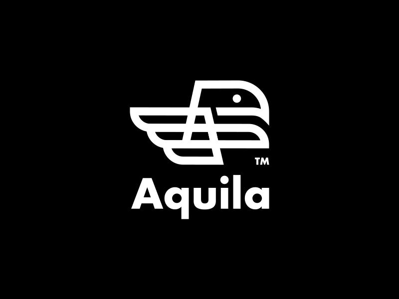 AQUILA // logo eagle bltr beltramo aquila