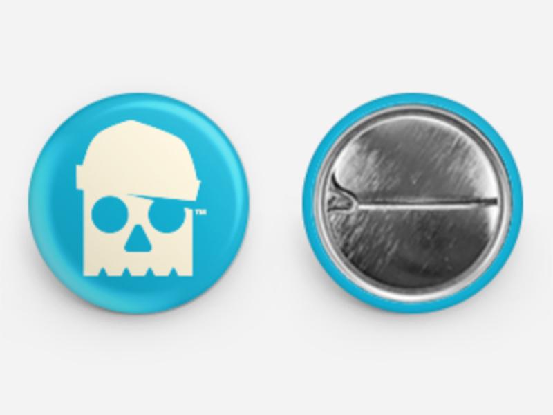 BUTTONS // skull logo buttons bltr beltramo avatar