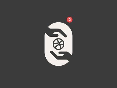TWO DRIBBBLE INVITES // beltramo bltr draft dribbble dribbble invite graphic design icon illustration invitation player prospect