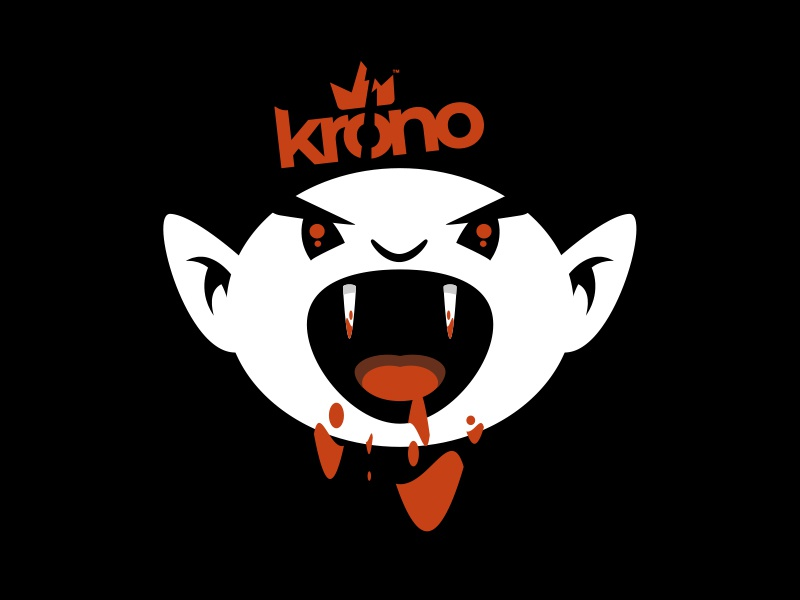 KRONO // nosferatu logo krono keevisual character bltr beltramo