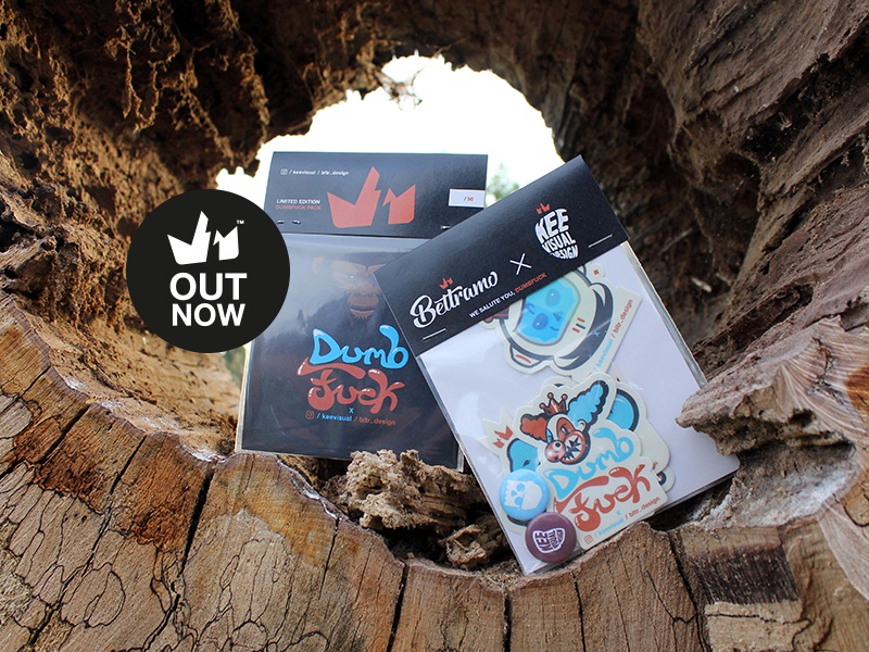 1st KRONO PACK // OUT NOW // stickerpack bltr beltramo krono keevisual sticker character illustration