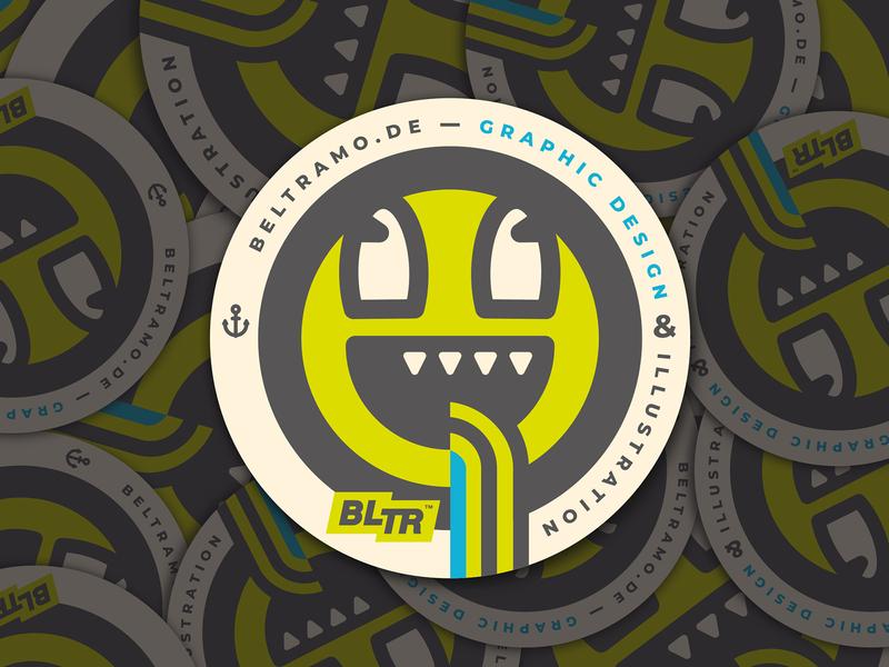 HAPPY DRUNK COASTERS // sticker mule coaster bltr beltramo