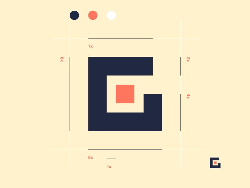 LETTER G // ARCHITECTURE // logo branding bltr-design bltr architecture
