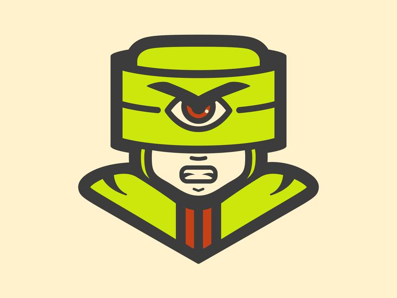 He-Man project // Tri-Klops // vector tri-klops illustration he-man character design