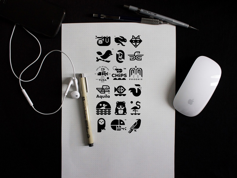 ANIMAL LOGO COLLECTION // animals illustration icon logo beltramo bltr
