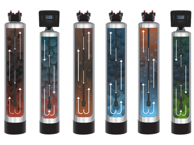 Pentair Pelican Filtration Tanks product illustration