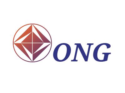 ONG Logo 4 geometric compass boxes italic trucking