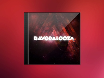 Ravopalooza Vol II music cd case template album art cover playlist