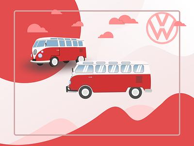 The car concept vw bus