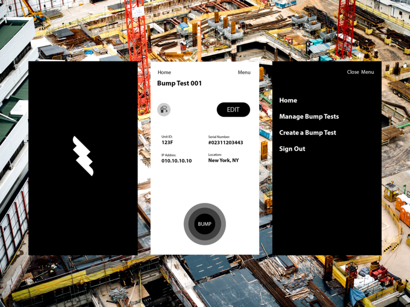 Open, Initiate, Consider user-testing geo-technology product design ui interface