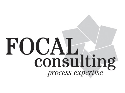Focal Consulting Logo  identity branding logo