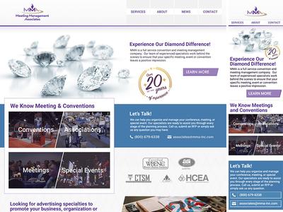 MMA Responsive Website Design mobile rwd design website