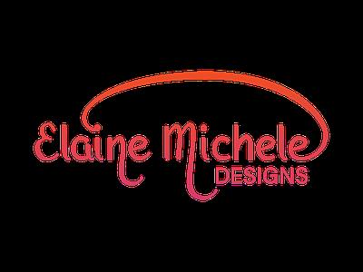 Elaine Michele Designs Logo identity branding logo