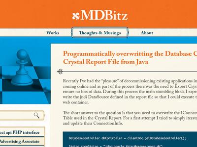 MDBitz Website Design blog design website