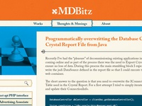 MDBitz Website Design