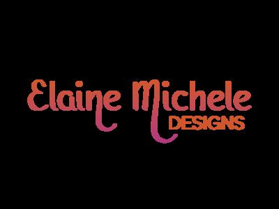 Elaine Michele Designs  identity branding logo
