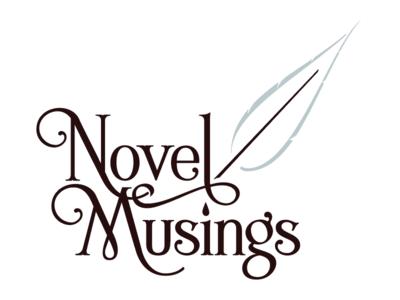 Novel Musings Logo identity branding logo