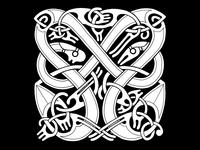 Norse Animal Ornament II