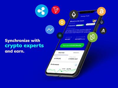 Monnos App bitcoin crypto ux ui monnos cryptocurrency clean minimal design