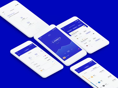 Monnos App • Crypto ui ux typography minimal design clean app