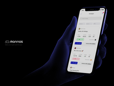 Sync Strategy by Monnos app crypto exchange cryptocurrency crypto wallet