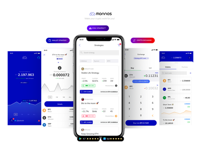Monnos - The all-in-one crypto account strategy crypto wallet crypto exchange cryptocurrency crypto monnos