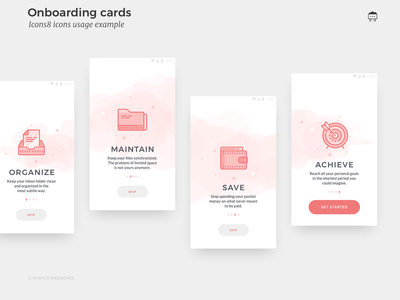 Onboarding screens animation ux ui interface illustrations icons onboarding
