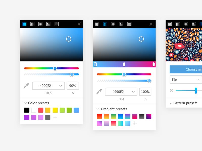 Lunacy Color Picker illustration icons icons8 lunacy desktop app app color design ux interface ui