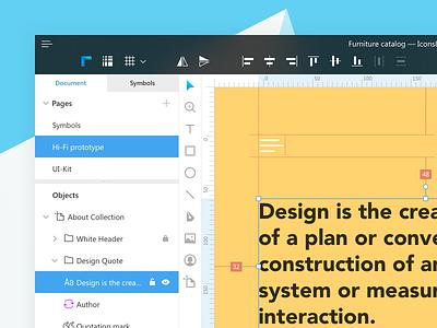 Lunacy Interface Updates fluent design lunacy app icons8 windows app desktop app design ux ui interface