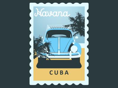 Havana, Cuba Postcard