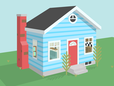 Tiny Home (3d Illustration)