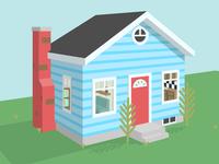 Tiny Home (3d Illustration)
