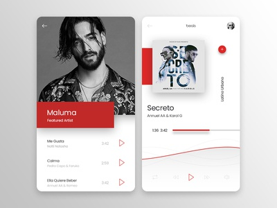 Latino Urbano Music App & Player