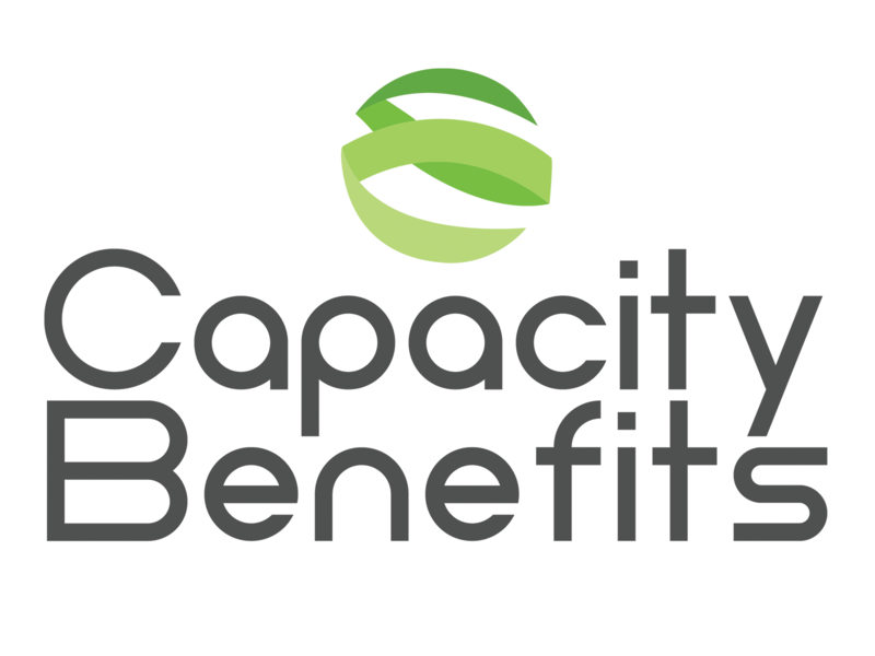 Capctiy Benefits Logo 1 mockup logo design illustrator branding illustration logo