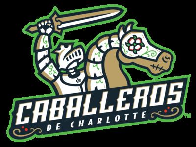 Caballeros de Charlotte - Primary Logo