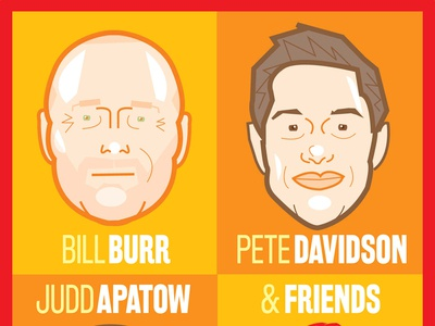 Bill Burr, Pete Davidson & Judd Apatow
