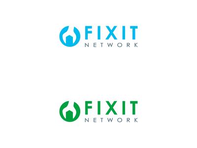 logo design concept for Fixit network