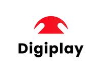 digiplay logo design concept