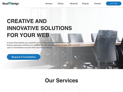 Web agency logo design ux ui designer design agency