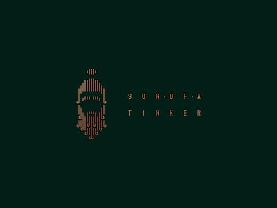Son of a Tinker - Logo Design lineart gradient logo design logodesign tinker copper flat minimal web vector illustration branding logo design minimalist