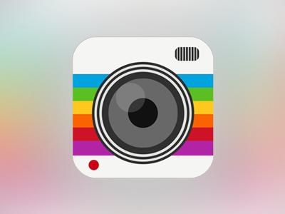 Camera camera app icon ios apple iphone ipad minimal minimalist flat