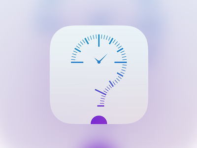 WhatNow - App Icon question clock ios news time icon app now what