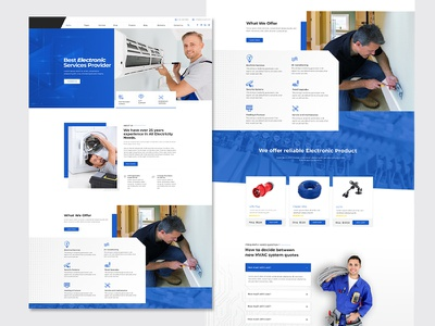 Mistox - Responsive Multi Purpose HTML5 Template repair electronic services services electrician