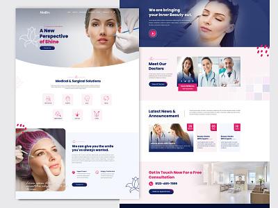 Medics – Clinic & Pharmacy HTML5 Template doctors pharmacy medical skin care