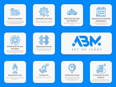OnDemand Services Icons